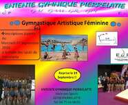 C'est la rentrée pour la Gymnastique Artistique Féminine le 19 septembre 2016 !!!